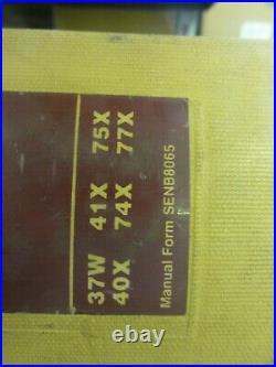 Caterpillar CAT V60D V70D V80D Lift Trucks Repair Service Manual