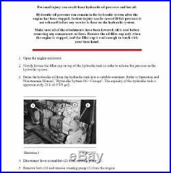 Caterpillar Cat 225 Excavator 76u Service And Repair Manual
