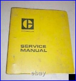 Caterpillar Cat 225 Excavator Service Manual