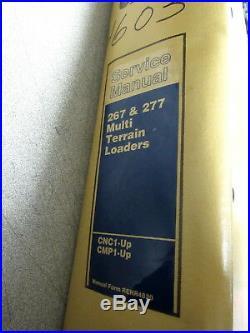 Caterpillar Cat 267 277 Multi Terrain Loaders Service Repair Manual CMP CNC 2001