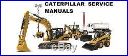 Caterpillar Cat 279d Compact Track Loader Gtl Service And Repair Manual