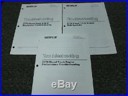 Caterpillar Cat 3176 Diesel Truck Engine Shop Service Troubleshooting Manual Set