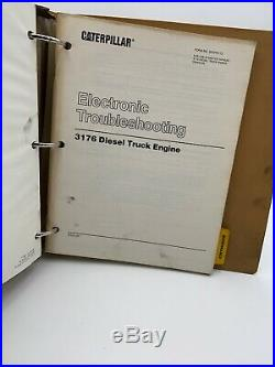 Caterpillar Cat 3176 Service Manual 7LG Shop Repair Truck Engine 19-3097