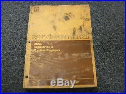 Caterpillar Cat 3208 Industrial & Marine Engine Shop Service Repair Manual Book