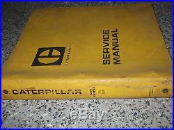 Caterpillar Cat 3208 Motor Serial #75V1-UP 90N1-UP Service Shop Manual Oem X