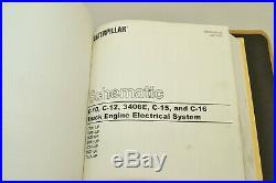 Caterpillar Cat 3406E C-15 C-16 C-18 On-Highway Engine Shop Service Manual