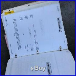 Caterpillar Cat 3406b Engine Service Manual S/n 7fb