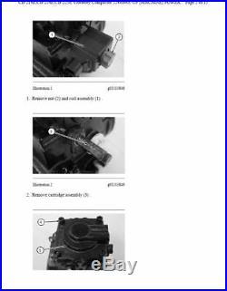Caterpillar Cat 416 Backhoe Loader 5pc Service And Repair Manual