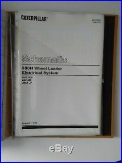 Caterpillar Cat 980H Wheel Loaders Shop Service Repair Manual Volume II (m1)