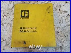 Caterpillar Cat 980b 980 Wheel Loader Service Manual 89p