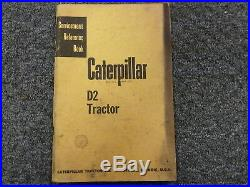 Caterpillar Cat D2 Tractor Servicemen's Reference Shop Service Repair Manual