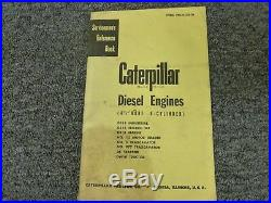 Caterpillar Cat D318 4 1/2 Bore 6 Cyl Diesel Engine Shop Service Repair Manual