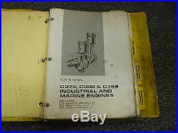 Caterpillar Cat D379 D398 & D399 Industrial Marine Engine Service Repair Manual