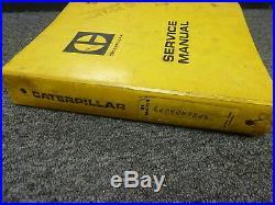 Caterpillar Cat D4 Crawler Tractor Dozer Shop Service Repair Manual Book