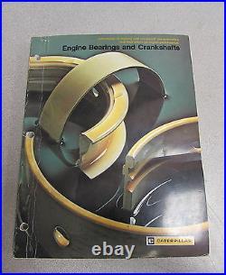 Caterpillar Cat Engine Bearings and Crankshafts Service Reference Manual 1980