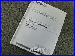 Caterpillar Cat GC20K GC25K GC30K Forklift Engine Shop Service Repair Manual