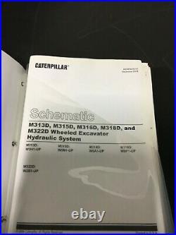 Caterpillar Cat M315d Excavator Service Manual Renr9470