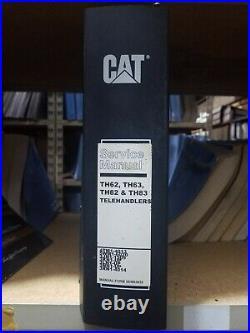 Caterpillar Cat TH62 TH63 TH82 TH83 Telehandler Shop Service Repair Manual
