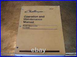 Caterpillar Challenger 660 670 Combine Operation Shop Repair Service Manual