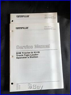 Caterpillar D3B Tractor Dozer Service Manual 3YC 5MC 23Y 24Y 27Y 28Y SENR7911-04