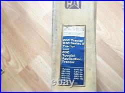 Caterpillar D3C D3C Series II & D3C Special App Tractor service manual OEM
