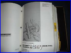 Caterpillar D3b Tractor Dozer Service Shop Repair Book Manual Oem Original