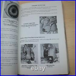 Caterpillar D4 112 955 Engine Service Manual repair shop book tractor crawler