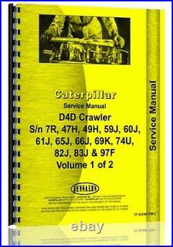 Caterpillar D4D Crawler Service Manual CT-S-D4D (7R+)