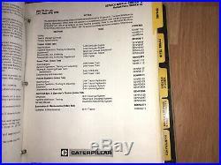 Caterpillar D4H Tractor factory service manual OEM