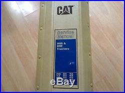 Caterpillar D5B D5E Tractor factory service manual OEM VG