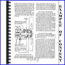 Caterpillar D6C D6 Crawler Service Repair Manual