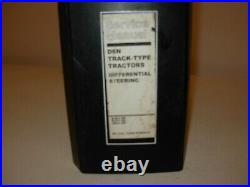 Caterpillar D6N Tractor Differential Steering Service Manual, DJA1, DJY1 JAM1
