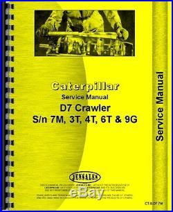 Caterpillar D7 Crawler Service Manual (CT-S-D7 7M)