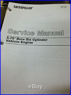 Caterpillar D8H Tractor Service Manual