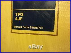 Caterpillar E240 and EL240 Excavator Service Manual 1FG 4JF