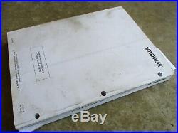 Caterpillar Forklift NOR30 NOR30P Orderpickers Service Manual