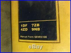 Caterpillar IT18 & IT18B Integrated Toolcarrier Service Manual 1DF 4ZD 7ZB 9NB