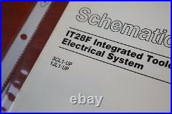Caterpillar IT28F IT Machine Electrical Schematic Manual repair service wiring