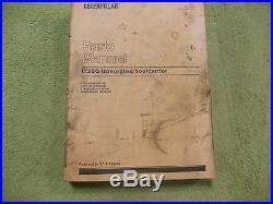 Caterpillar IT28G 8CR, 9AR- CAT Integrated Toolcarrier Parts Manual Service Book