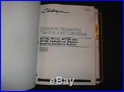 Caterpillar Mt735 Mt745 Mt755 Mt765 Challenger Tractor Service Repair Manual Set