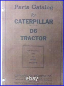 Caterpillar RD6 Diesel Crawler Tractor Owner, Parts & Service (3 Manuals) 2H1-up