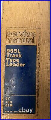 Caterpillar Service Manual 955L Track Type Loader 8Y, 13X, 57M