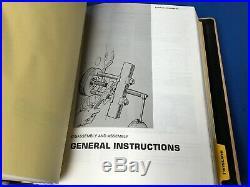 Caterpillar Service Manual 966C Wheel Loader Hardcover Cat Factory Shop Repair