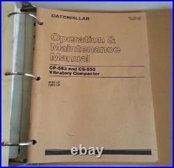 Caterpillar Service Manual Cp-553 / Cs-565 Vibratory Compactors /7ad /7bd /8bd