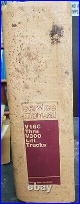 Caterpillar Service Manual V160 Thru V300 Lift Trucks