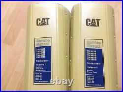 Caterpillar TH350B TH355B TH360B TH460B TH560B Telehandler service manual Set