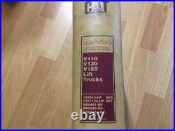 Caterpillar V110 V130 V150 Lift Truck Factory service manual OEM