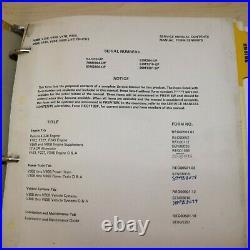 Caterpillar V30B V35B V40B V45B V41B V50B V51B V55B V60B Forklift Service Manual