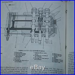 Caterpillar V60E V70E V80E Forklift service manual book repair CAT shop lift 58a