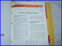 Caterpillar engines 3208 3300 3400 1100 3100 3406 dealer service warranty manual